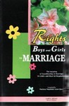 The Rights of Boys and Girls in Marriage