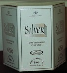 Silver - 6ml (.2oz) Roll-on Perfume Oil by Al-Rehab (Crown Perfumes) (Box of 6)