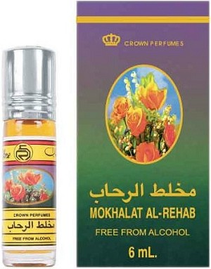 Mokhalat Al-Rehab - 6ml (.2oz) Roll-on Perfume Oil by Al-Rehab (Crown Perfumes) (Box of 6)