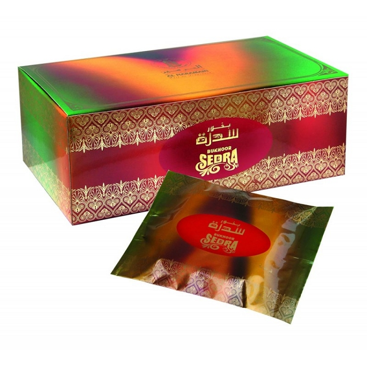 Bukhoor SEDRA Incense Tablet from Haramain