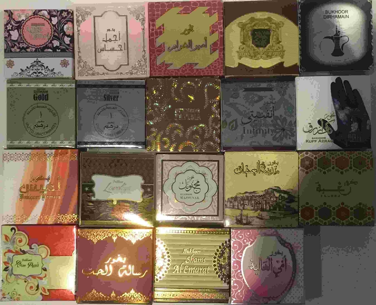 Bukhoor AHLAM AL ARAB Incense 40gm by Al Khayam Zafron