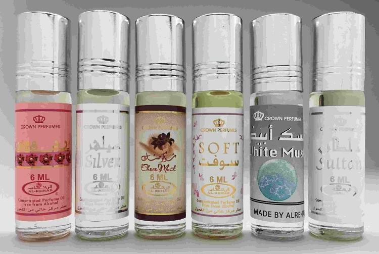 1333132fe 6 (Six) AlRehab 6ml Perfume Oils Best Sellers Set # 10: Classic ...