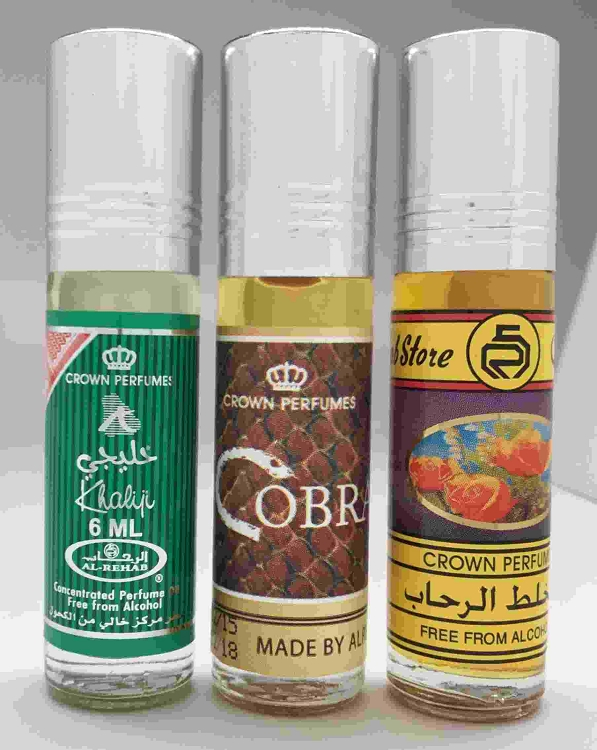 Al-Rehab Best Seller Set # 22: RIO, Fruit & Taif Rose