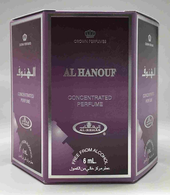 Al Hanouf - 6ml (.2 oz) Roll-on Perfume Oil by Al-Rehab (Box of 6)