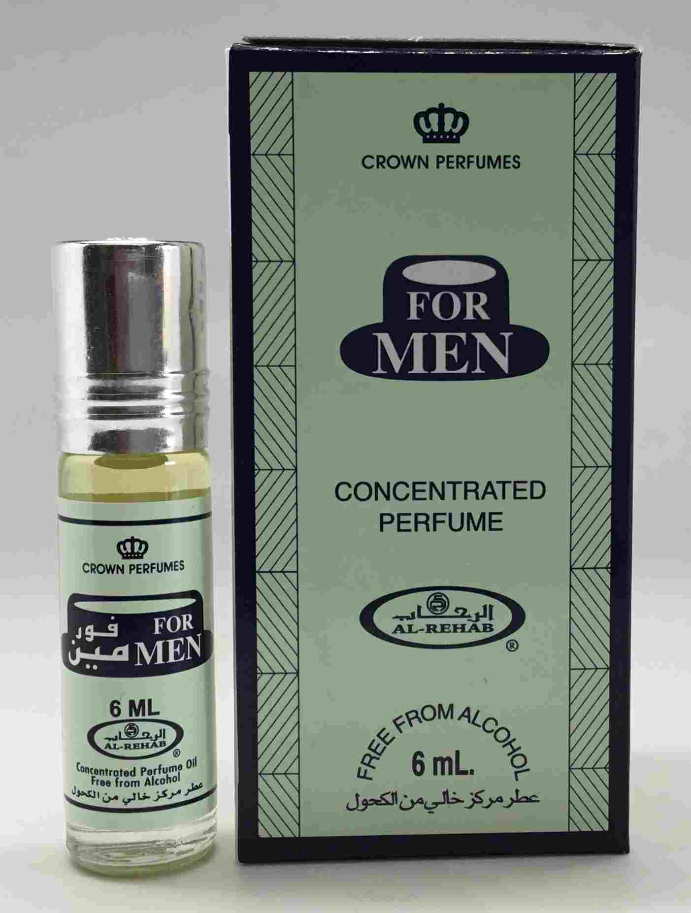 For Men- 6ml (.2 oz) Perfume Oil  by Al-Rehab