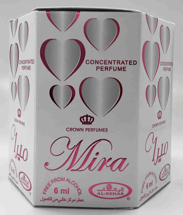 Mira - 6ml (.2oz) Roll-on Perfume Oil by Al-Rehab (Box of 6)