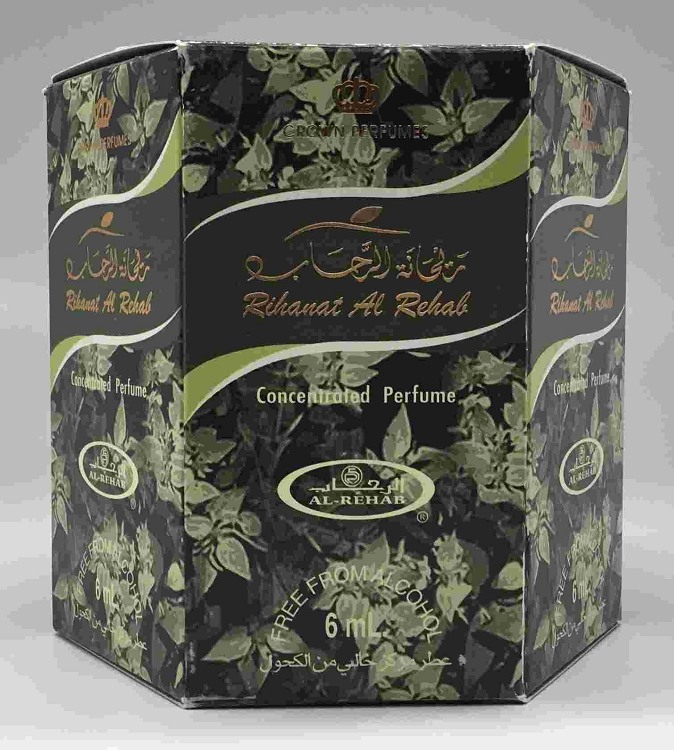 Rihanat Al Rehab - 6ml (.2 oz) Roll-on Perfume Oil by Al-Rehab (Box of 6)