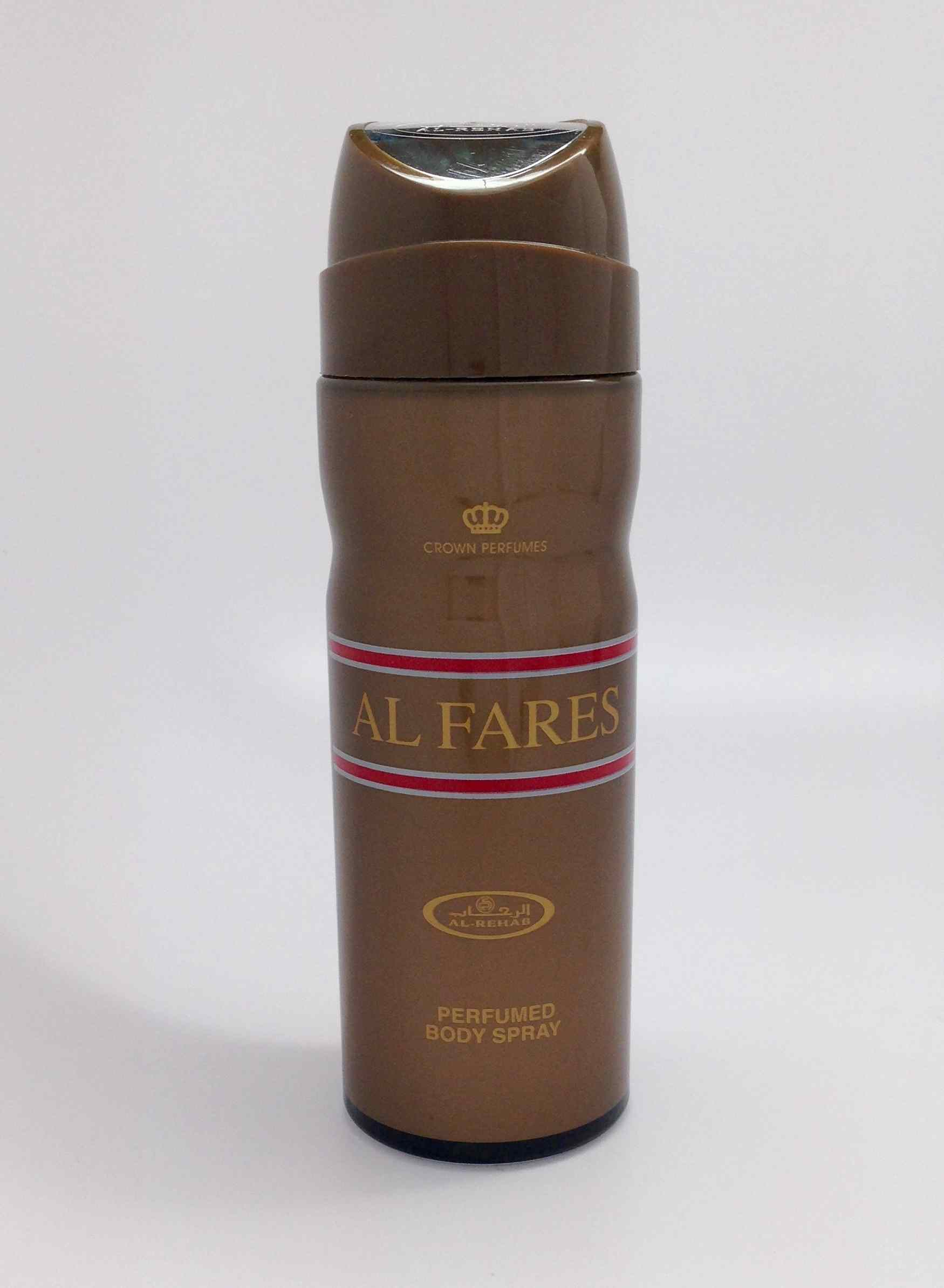 Al Fares - Perfumed Body Spray (200 ml/6.6 Floz) by Al-Rehab