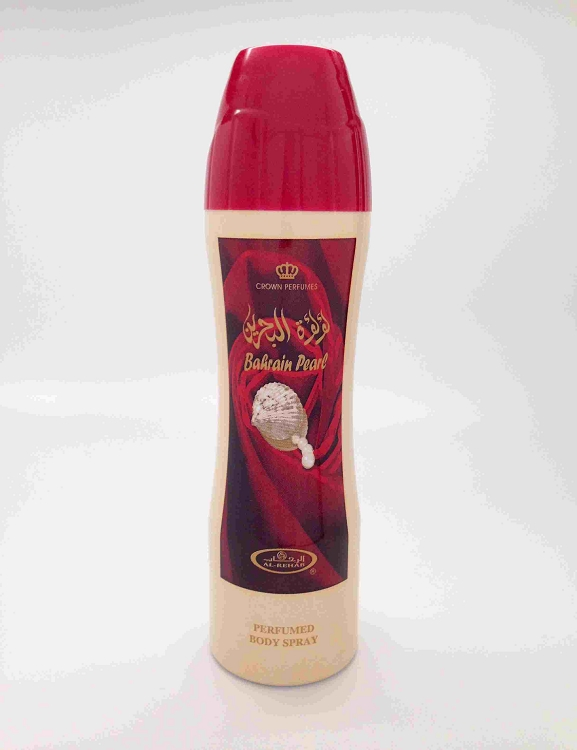 Bahrain Pearl - Perfumed Body Spray (200 ml/6.6 Floz) by Al-Rehab