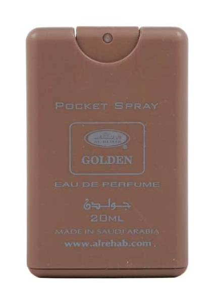 Golden - Pocket Spray (20 ml) by Al-Rehab