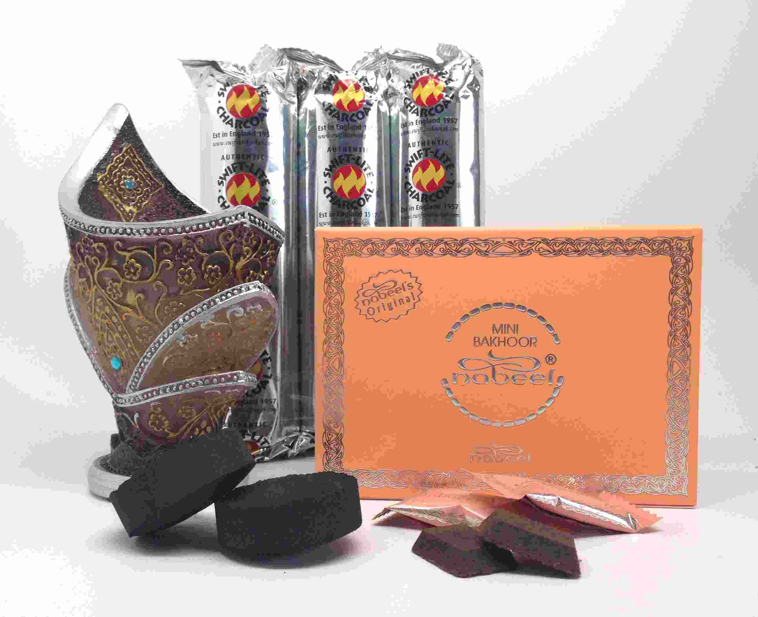 Mini Bakhoor NABEEL  (Touch Me) INCENSE GIFT SET by Nabeel