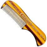 Kent  A 81T - Extra Small Men's Mustache and Beard Comb