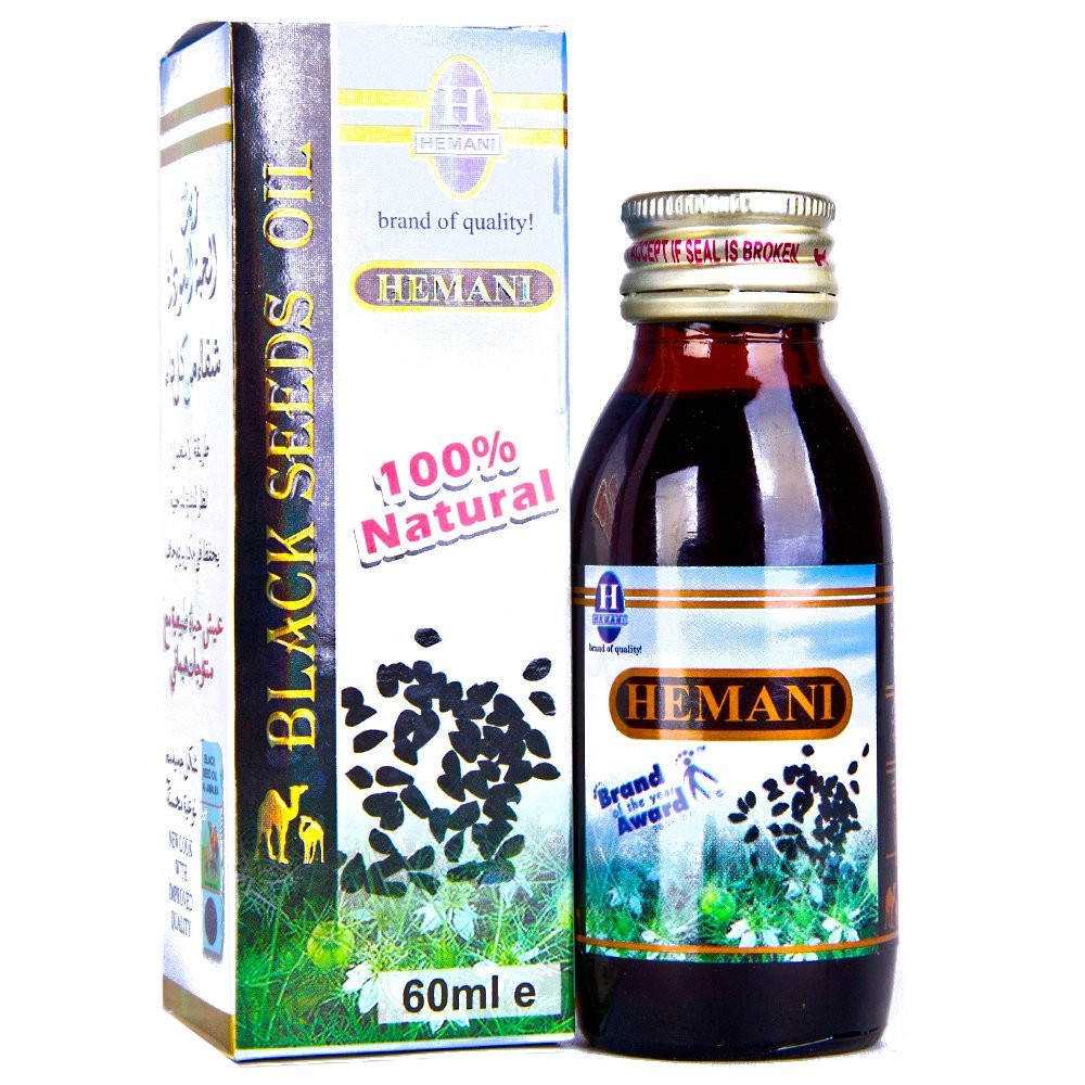 Black Seed Oil by Hemani - 60ml (2.02 fl oz)