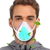 Reusable, Washable Silicone Personal Protection Masks with Five KN95 Filters