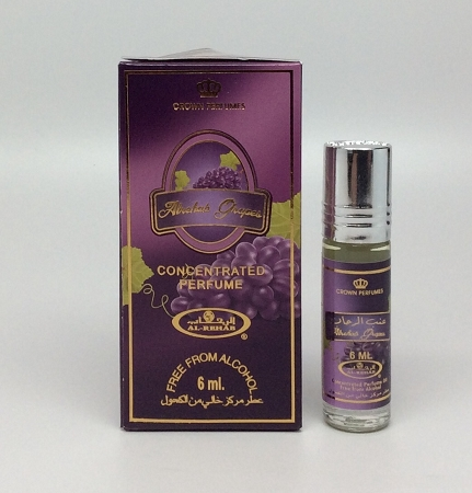 Al-Rehab Grapes - 6ml (.2 oz) Perfume Oil  by Al-Rehab