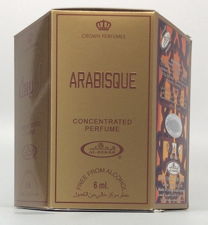 Arabisque - 6ml (.2oz) Roll-on Perfume Oil by Al-Rehab (Box of 6)