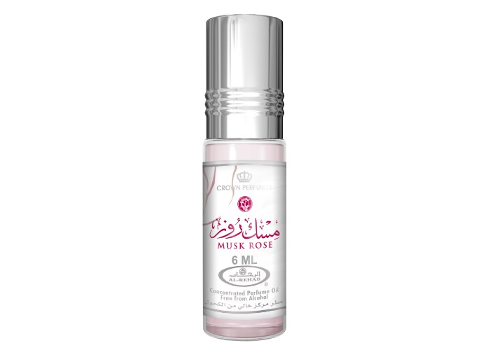 Musk Rose - 6ml (.2 oz) Perfume Oil  by Al-Rehab