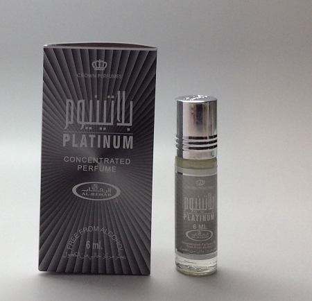 Platinum - 6ml (.2 oz) Perfume Oil  by Al-Rehab