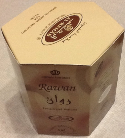 Rawan - 6ml (.2 oz) Roll-on Perfume Oil by Al-Rehab (Box of 6)
