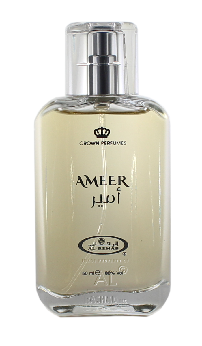 Ameer - Eau De Parfum Natural Spray (50ml/1.65fl.oz.) by Al-Rehab