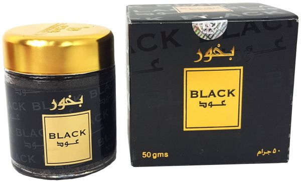 Bakhoor Black Oud (50gm) by Banafa for Oud