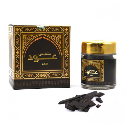 Al Nafis Oud Moattar (50gm) Incense by Banafa for Oud