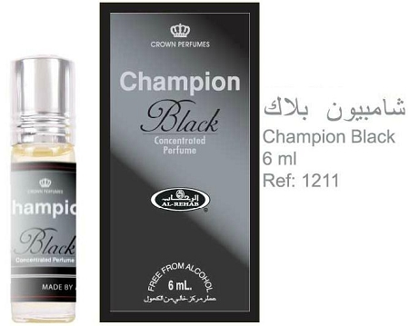 Champion Black - 6ml (.2 oz) Perfume Oil  by Al-Rehab