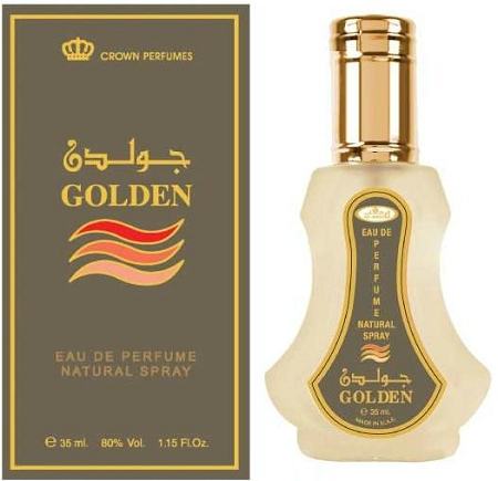 Golden - Al-Rehab Eau De Natural Perfume Spray- 35 ml (1.15 fl. oz)