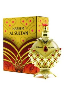 Hareem Al Sultan Gold - Concentrated Perfume Oil by Khadlaj (35ml)