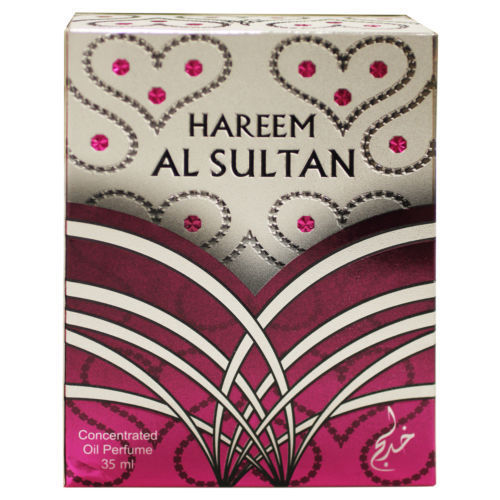 Hareem Al Sultan Silver - Concentrated Perfume Oil by Khadlaj (35ml)