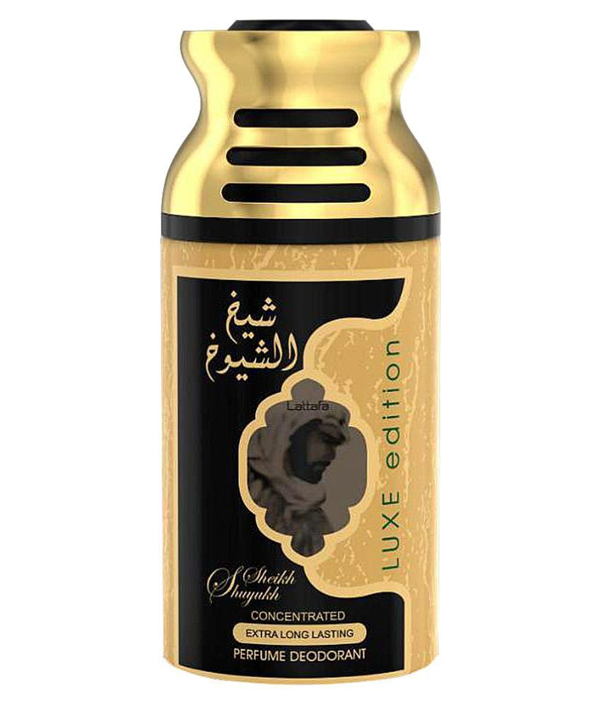 Sheikh Shuyukh - Luxe Edition - Deodorant Concentrated Perfumed Spray (250 ml/9 fl.oz) by Lattafa