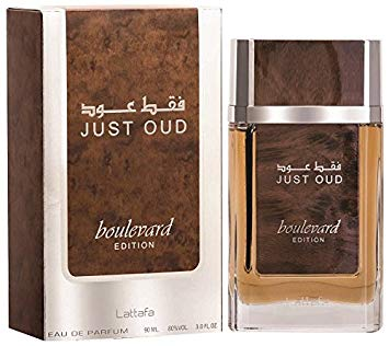 Just Oud - Boulevard Edition - Eau De Parfum Spray (100 ml - 3.4Fl oz) by Lattafa