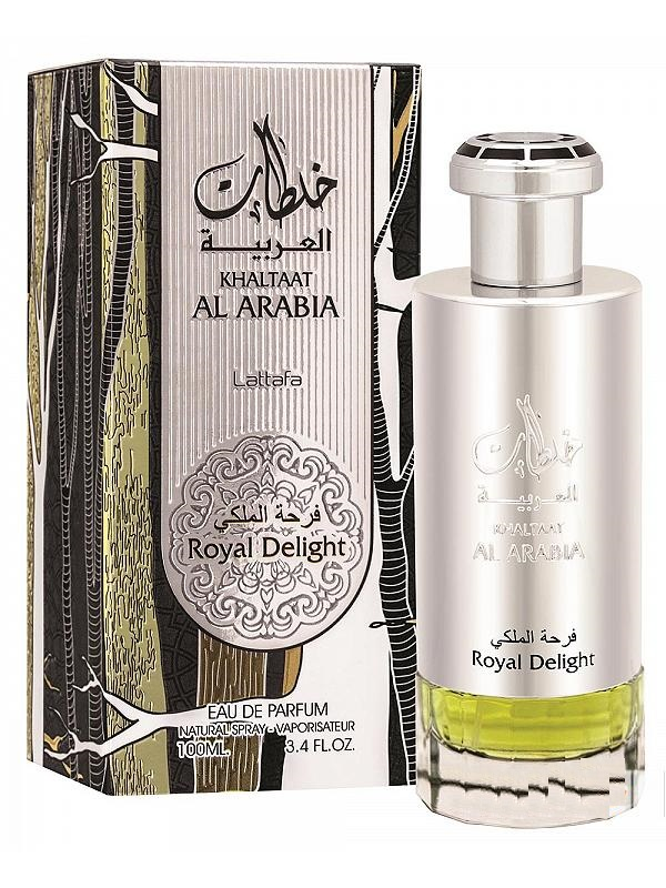 Khaltaat Al Arabia Royal Delight - Eau De Parfum Spray (100 ml - 3.4Fl oz) by Lattafa