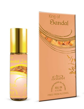 King of Sandal - 6ml Rollon Perfume Oil by Nabeel