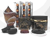 NABEEL BLACK (Etisalbi) Oudh and Bakhoor Incense Gift Set by Nabeel  with Incense Holder and Swiftlite Charcoal