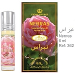 Nebras - 6ml (.2 oz) Perfume Oil  by Al-Rehab (Crown Perfumes)