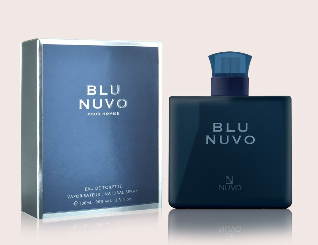 Blu Nuvo By Nuvo Parfums Pour Homme Men 100ml Natural Spray