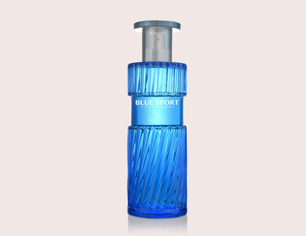 Blue Sport by NUVO PARFUMS - POUR HOMME (MEN) - 100ml Natural Spray