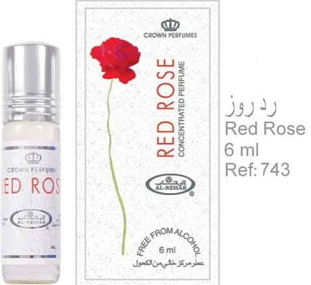 Red Rose - 6ml (.2 oz) Perfume Oil  by Al-Rehab