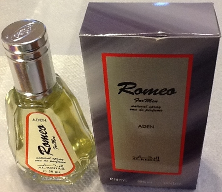 Romeo for Men- Al-Rehab Natural Perfume Spray- 50 ml (1.65 fl. oz)