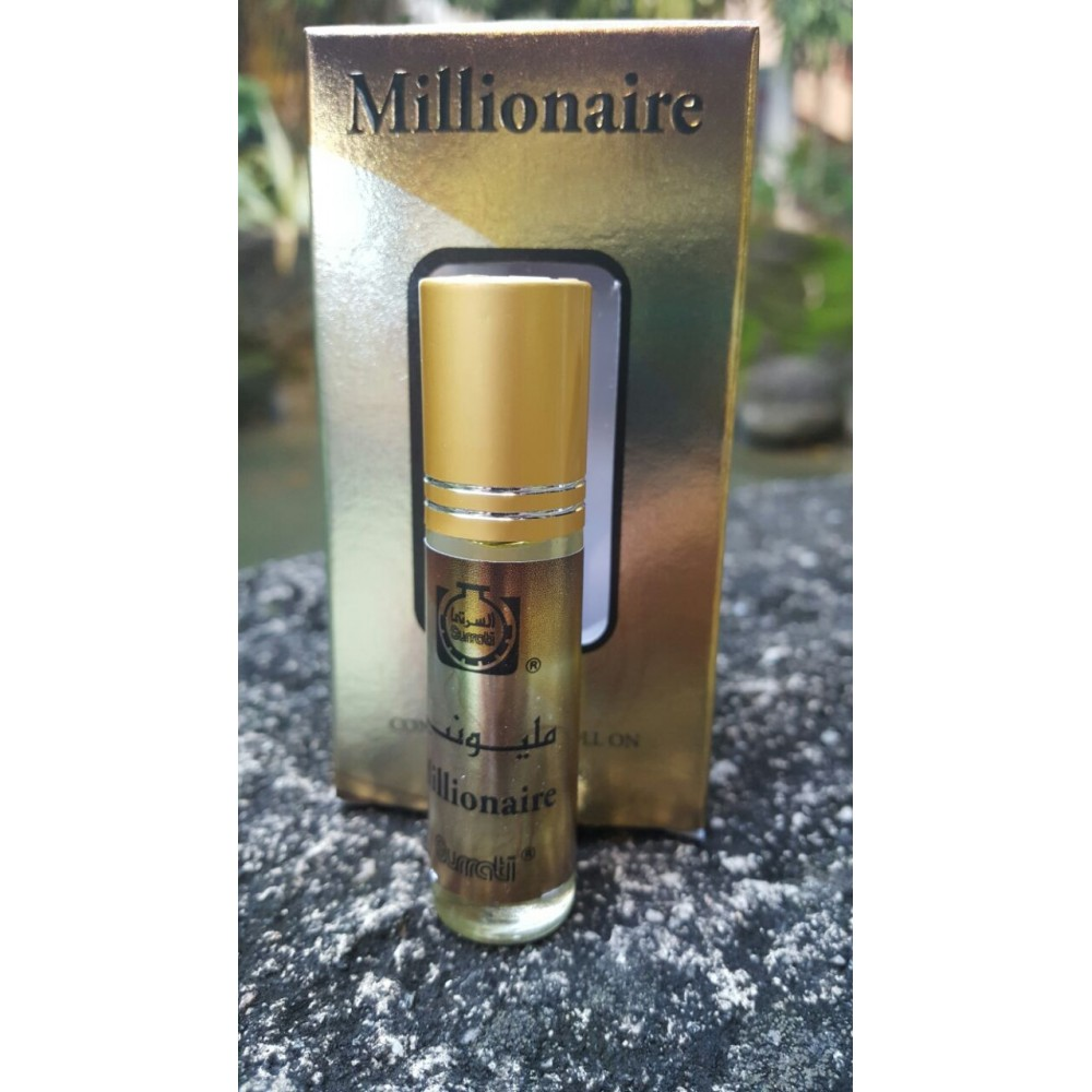 Millionaire - 6ml Roll-on  Perfume Oil by Surrati