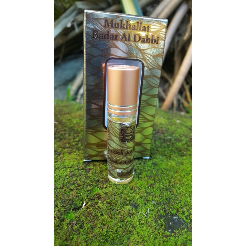Mukhallat Badar Al Dahbi - 6ml  Roll-on  Perfume Oil by Surrati
