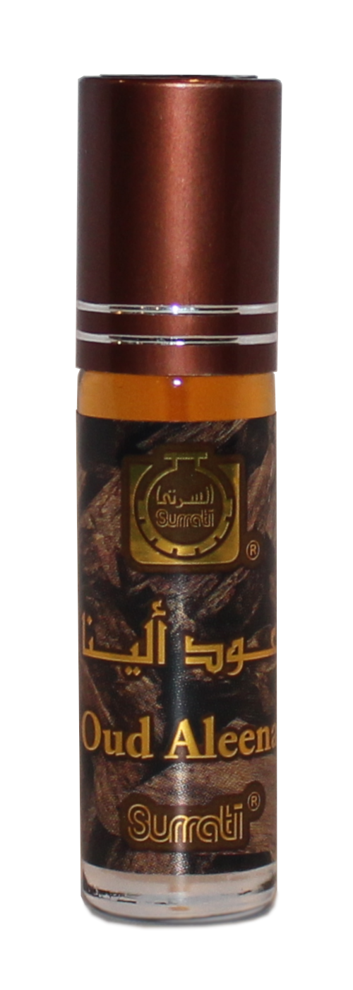 Oud Aleena - 6ml Roll-on Perfume Oil by Surrati