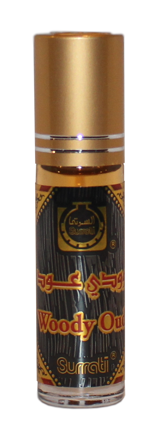 Woody Oud - 6ml Roll-on  Perfume Oil by Surrati