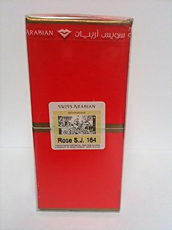 Rose S.J. 164 by Swiss Arabian Givaudan (9ml)