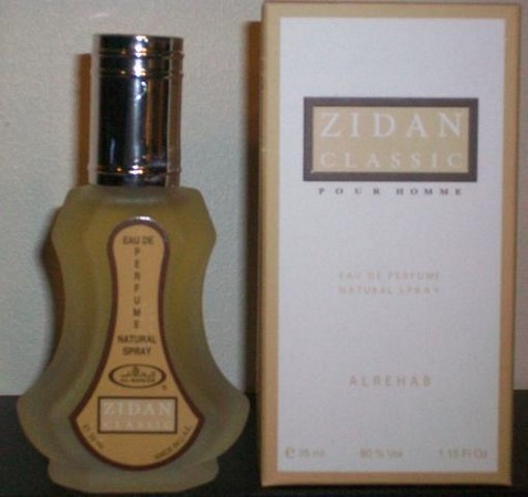 Zidan Classic - Al-Rehab Eau De Natural Perfume Spray - 35 ml (1.15 fl. oz)