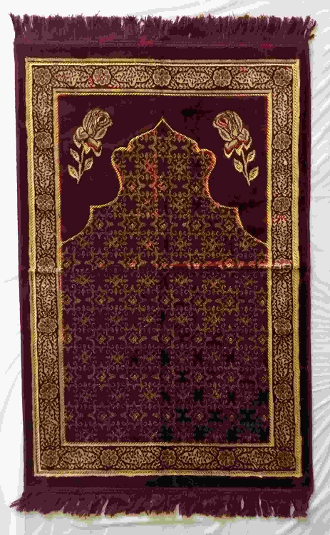 Safi Prayer Rugs - Design SA-D4 Red Flower - Design Spiegel - Design Plush