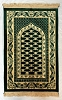 Safi Prayer Rugs - Design SA-D1 Dark Green - Design Spiegel - Design Plush