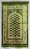 Safi Prayer Rugs - Design SA-D1 Green - Design Spiegel - Design Plush