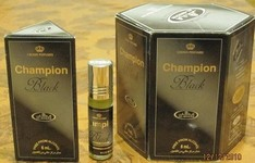 Champion Black - 6ml (.2oz) Roll-on Perfume Oil by Al-Rehab (Box of 6)